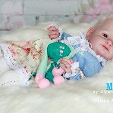 Любовь моя , Люсенька . Куклы реборн Наталии Костиной
