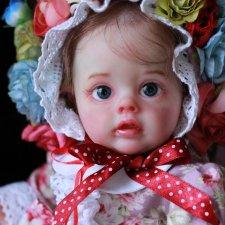 Флошечка. Малявочка любимая. Куклы реборн Наталии Костиной