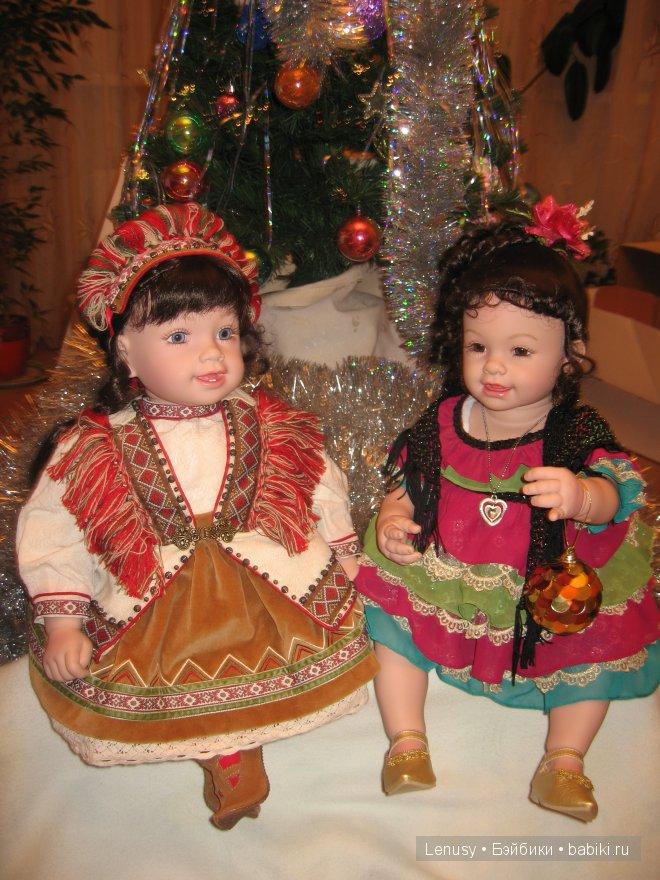 Майя и Саванна - С Новым Годом!