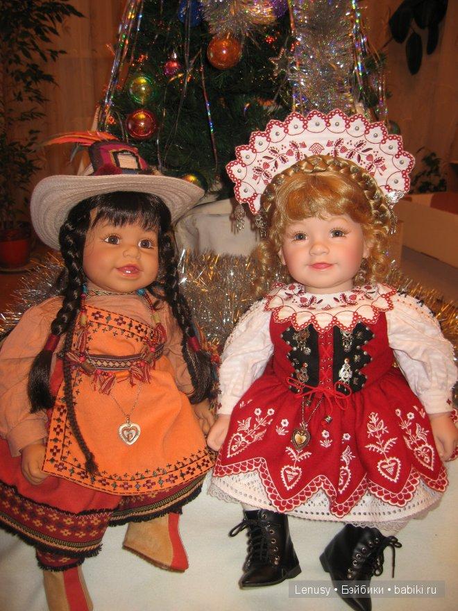 Елена из Перу и Надя из Словакии!