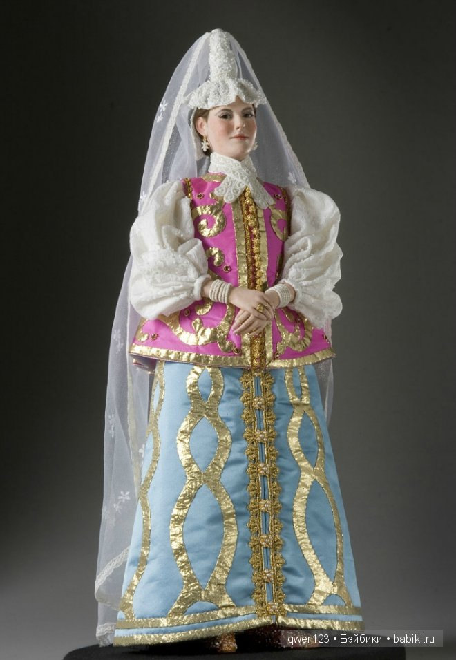 Куклы из воска Георга Стюарта (George Stuart)