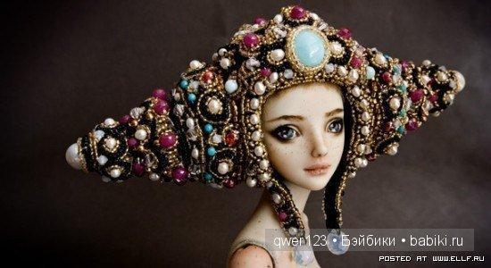 Удивительные куклы Марины Бычковой