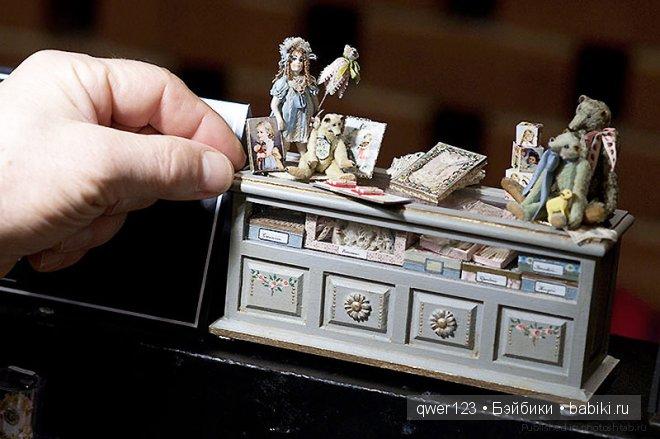Миниатюры Кенсингтонского фестиваля кукольных домов (Kensington Dollshouse)