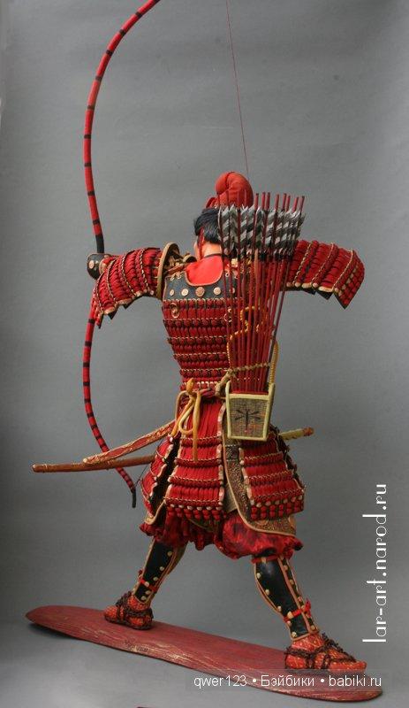 Куклы-Самураи от Ларисы Чуркиной