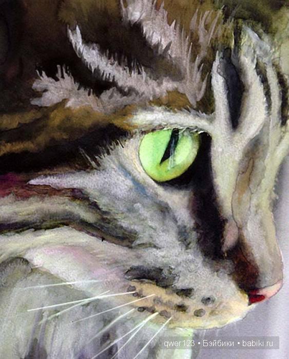 кошки в живописи от Alex Carter (Америка)