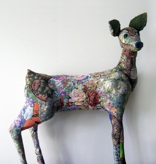 скульптуры животных от Бриони Дженингс (Bryony Jennings)