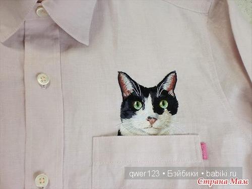 Карманные котики от Хироко Кубота (Япония)