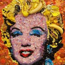 Удивительные картины из мелкого хлама от Jane Perkins