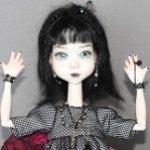 Мечтательница и Gothic Girl. Авторские фарфоровые куклы