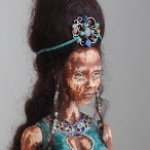 Принцесса - автор Наташа Яскова. Шарнирная кукла