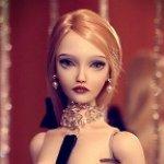 Фарфоровая кукла от Наташи Ясковой