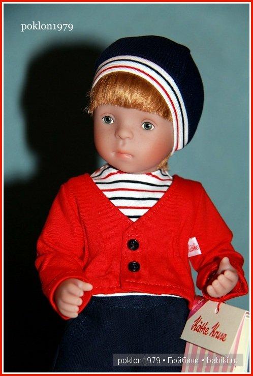 Кукла Minouche в подарок для меня от автора Sylvia Natterer