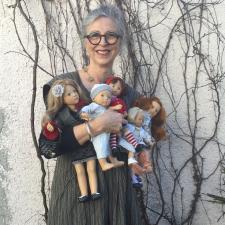 Интервью с автором кукол Сильвией Наттерер, Sylvia Natterer
