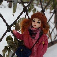 Прогулка в снежный день