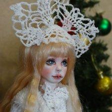 Ещё немного об авторской кукле Снегурочке