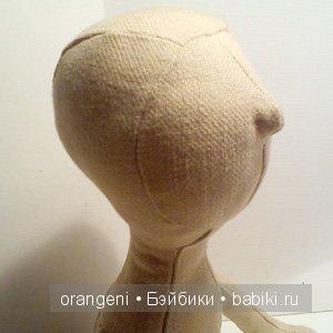 Olivia, blank doll body, close up1