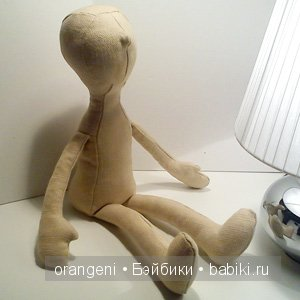 Olivia, blank doll body, stuffed