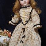 Миниатюрная красавица от немецкого автора Gebruder Kuhnlenz молд 165