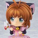 Нендороид Co-de Card Captor Kinomoto Sakura Black Cat Maid -2