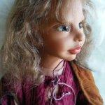 Такая интересная куколка Priyanka by Martha Pineiro у меня поселилась