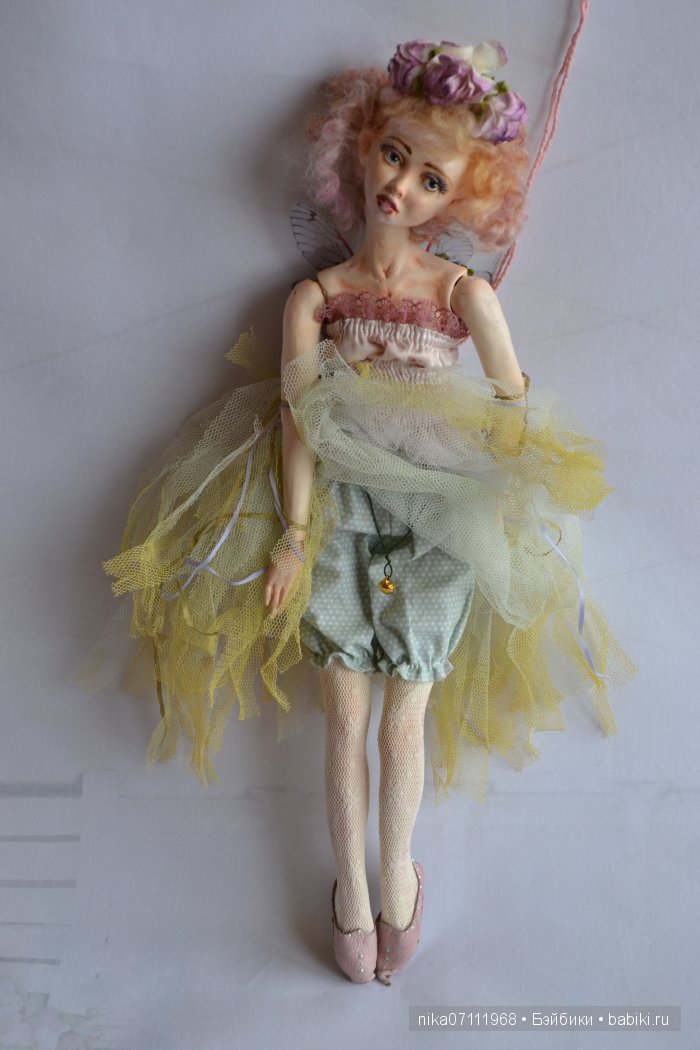 Вербена, авторская кукла Ольги Бусыгиной