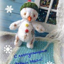 Малыш - снеговичок