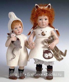 Мои Gotz малыши - дружная компания Beatrice Perini и Skille