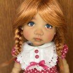 Парички Monique 12/13, подходят Meadow dolls 46 см и другим