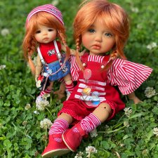 Сильвия и Нави... Meadow dolls