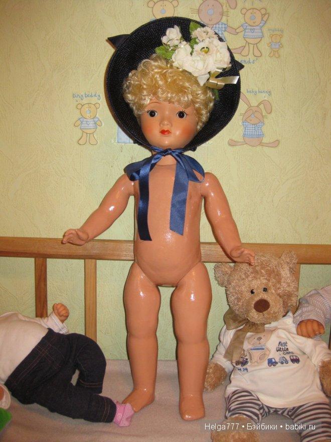 Немецкая кукла Sonneberger Porzellanfabrik