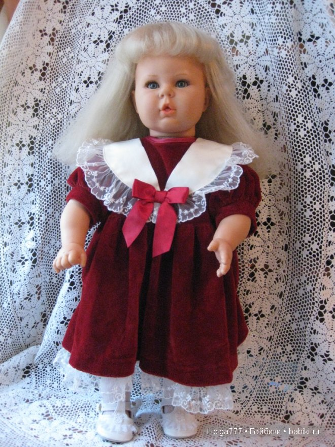 Еще одна спасенная девочка. Ремонт куклы Berjusa
