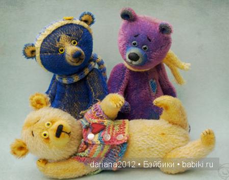 Живые игрушки Ирины Кунах
