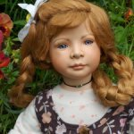 Фарфоровая девочка Сабрина от Heidi Plusczok