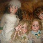 Ольга и Татьяна. Cuno & Otto Dressel, Armand Marseille doll