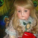 Прекрасная Ольга. Антикварная кукла Cuno & Otto Dressel doll