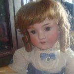 Роскошная Эни, антикварная кукла от Kley & Hahn - Walkure - Kestner doll
