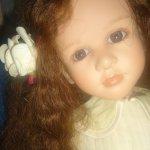 Прекрасная и нежная Sydonie от Рут Треффейсе/Ruth Treiffeisen doll