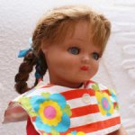 BELLA-Capi Антикварная кукла Франция К 127