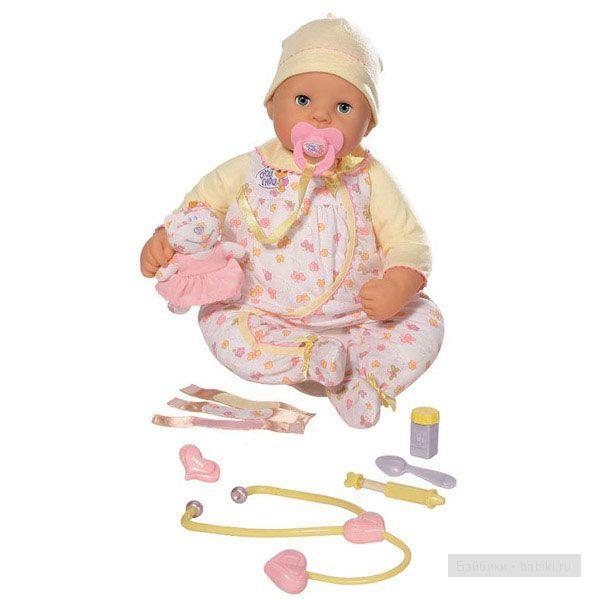 "Кукла zapf chou chou ""Вылечи меня"" 48 см"