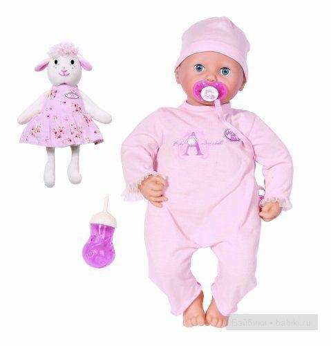 ZAPF Creation Baby Annabell Кукла девочка многофункциональная, 46 см