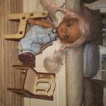 Набор мебели для куколок ростом 9-10 см