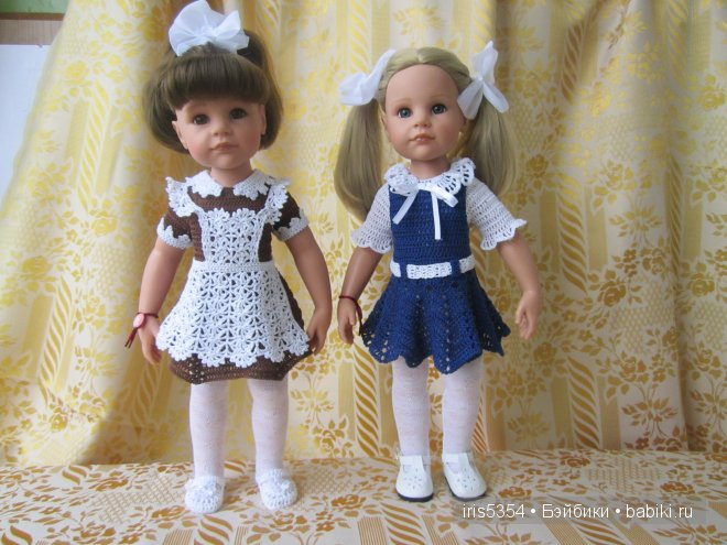 Школьная форма для куклы своими руками видео 14