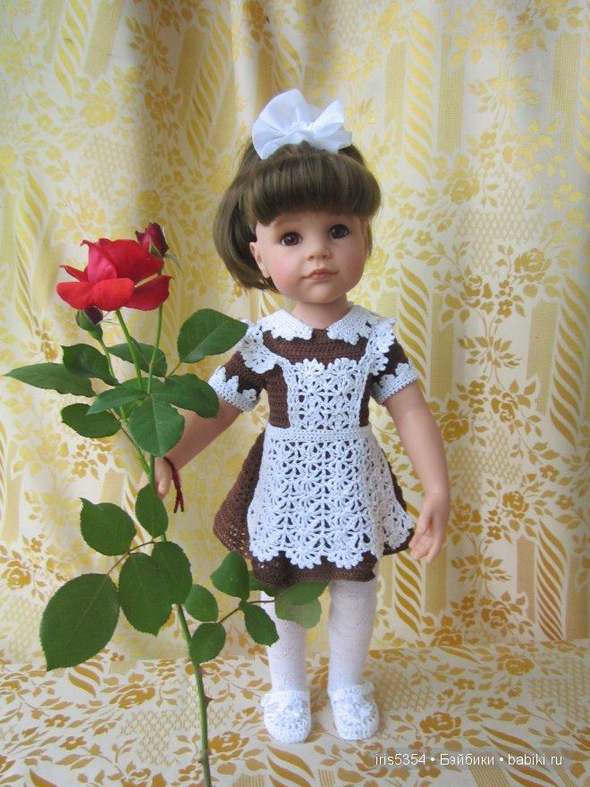 Школьная форма для куклы своими руками видео 122