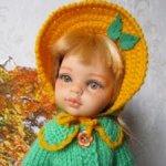 Осенняя одежда для кукол Паола Рейна.