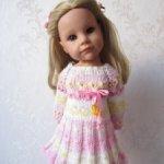 """Платье """"Карамелька"""" для девочек Готц."""