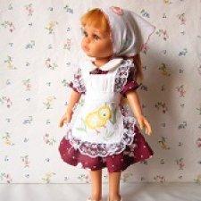 Наряд для кукол Паола Рейна.