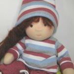 Мягкая кукла в вальдорфском стиле. Снизила цену.