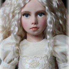 Авторская кукла Лея