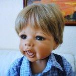 Флориан (Florian) - веснушчатый фарфоровый братик Ребекки от Моника Левениг