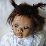 Маленький нежный ангелочек. Фарфоровая кукла Дженни Автор Gaby Jaques